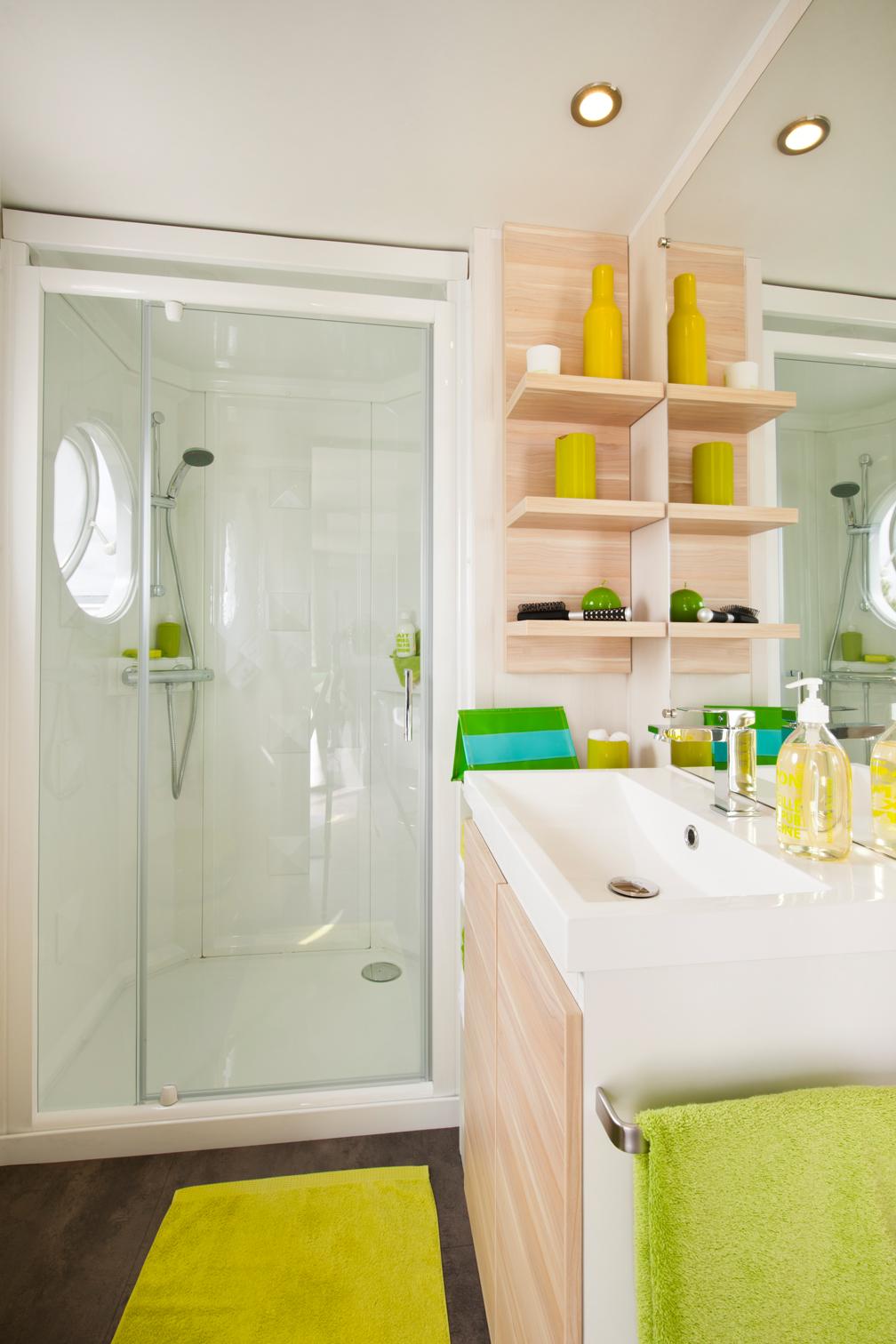 Salle de bain mh 3 chambres 2014 - Mobil home 3 chambres 2 salles de bain ...
