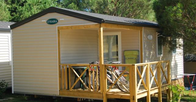 Mobile Home 2 chambres Côté Montagne (4/6 personnes)
