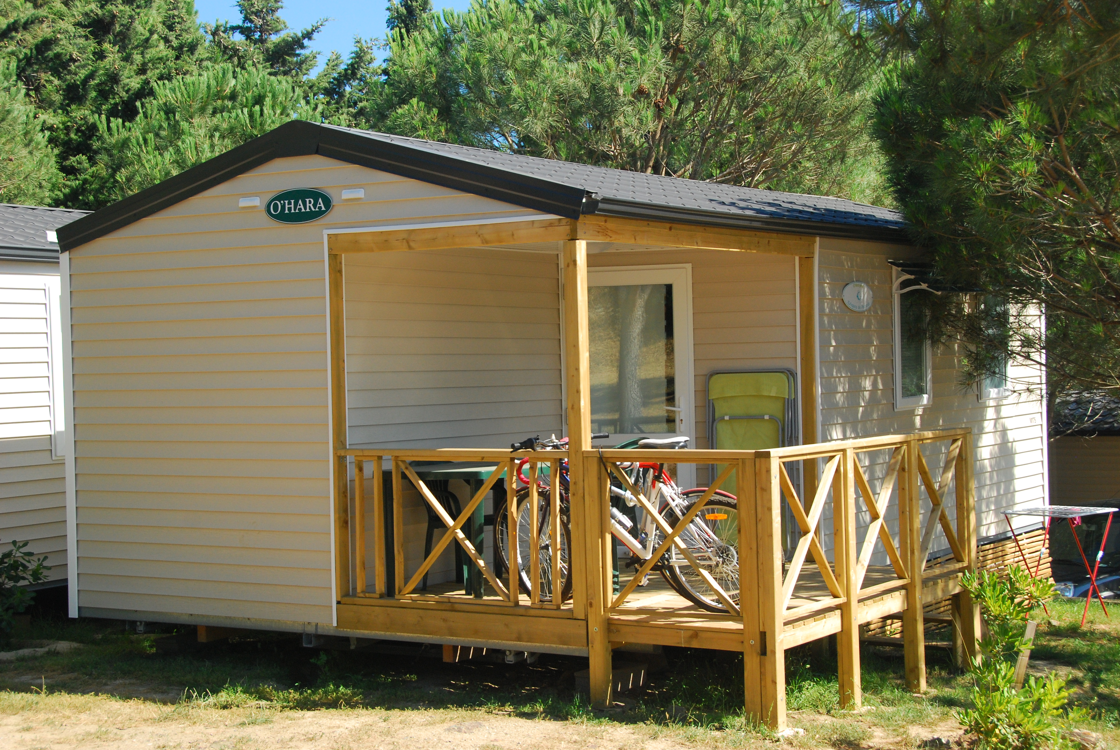 Mobile home 2 chambres c t montagne for Mobilhome 3 chambres