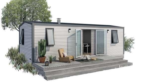 MOBILE  HOME  PALACE  2  chambres  côté  montagne (4/6pers.)  Modèle  2019