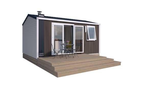 MOBILE HOME  PREMIUM  1  chambre  côté  montagne (2/4pers.)  Modèle  2019